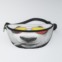Cool Summer Panda Fanny Pack