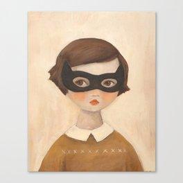 Kitten Bandit Canvas Print