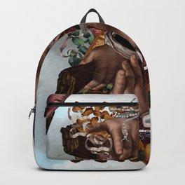 Vesica piscis Backpack