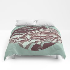TOPOGRAPHY 002 Comforters