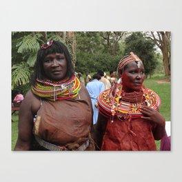 Turkana Women Canvas Print