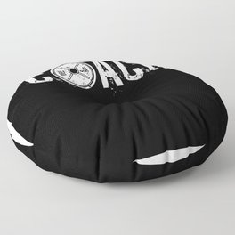 Coach Weight Lifter Fitness Toning Gym Floor Pillow