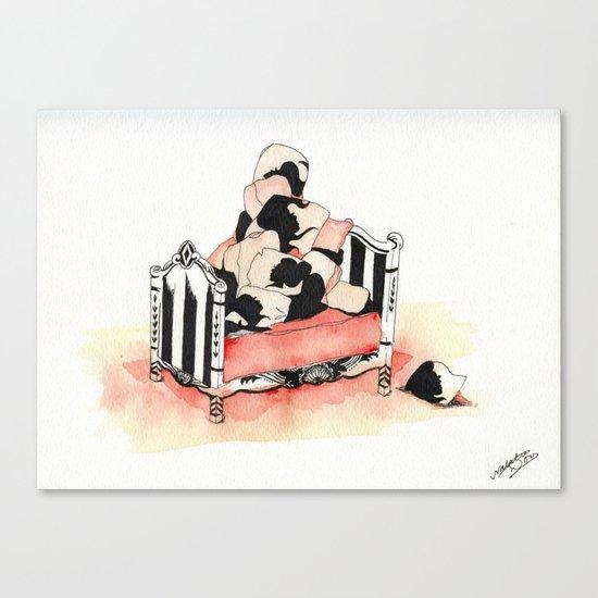 Pile High Canvas Print