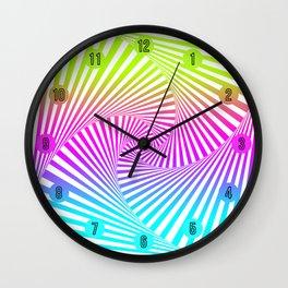 Summer Twista 3 Wall Clock