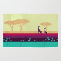 safari Area & Throw Rugs featuring Safari by Kakel