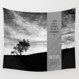 Henry David Thoreau - Solitude Wall Tapestry