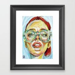 """Glowing 2"" Framed Art Print"