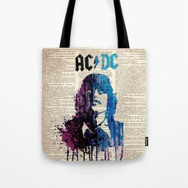 Hard rock art on dictionary #young Tote Bag