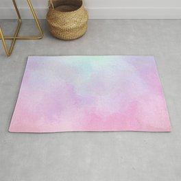 Soft Rainbow Pastels Rug