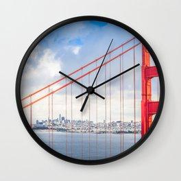 Golden Gate Bridge #2 Wall Clock