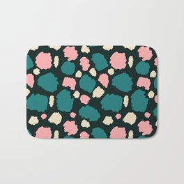 abstract paint swatches Bath Mat