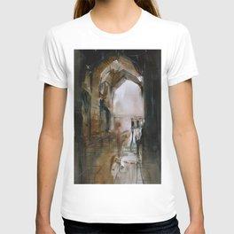 Under the Ali Qapu palace T-shirt