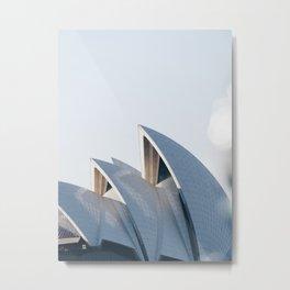 Sydney Opera House | Jørn Utzon Architect | Australia Architecture Metal Print