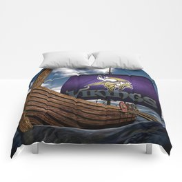 Viking Ship Comforters