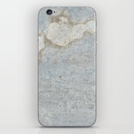 Blueish, rusty and old steel texture iPhone Skin