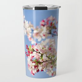 Crabapple blossoms Travel Mug
