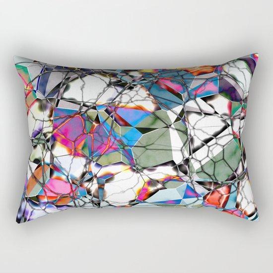 Abstract Geometric Web Rectangular Pillow