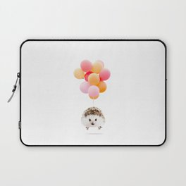 Hedgehog Balloons Laptop Sleeve