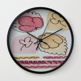 Autumn Time Wall Clock