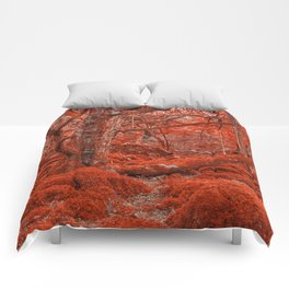 Ruby Moss Forest Comforters