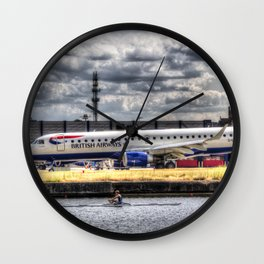 British Airways Single scull Wall Clock