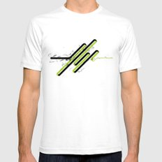 05: Refinement White Mens Fitted Tee SMALL