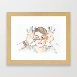 Lipe Framed Art Print