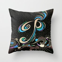 The P Word Throw Pillow