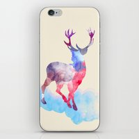 deer iPhone & iPod Skins featuring deer by mark ashkenazi