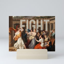 Fight. Mini Art Print