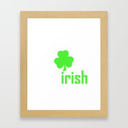 St. Patrick's Day - St. Patrick's Day Irish Framed Art Print