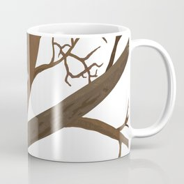 Tree Cat Coffee Mug