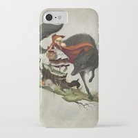"""evil iPhone & iPod Cases featuring """"Unto an evil counsellor, close heart and ear and eye..."""" by Dave E. Phillips"""