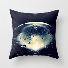 WORLD OF GLAS - CROSS/PROCESS Throw Pillow