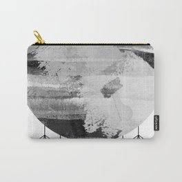 'Planets' minimal styled geometrc design and abstract painting Carry-All Pouch