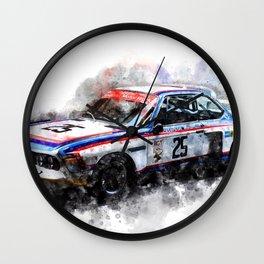 CSL, Ronnie Peterson, Brian Redman Wall Clock