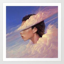 Head In The Clouds - 01 Art Print