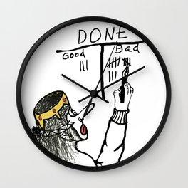 Actions Wall Clock