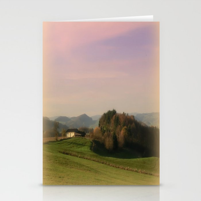 Landscape view Stationery Cards