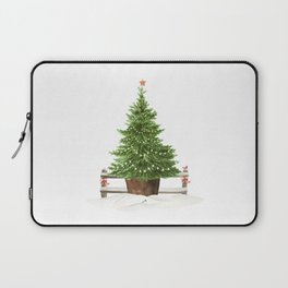 Christmas In The Country Laptop Sleeve