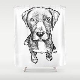 GOOD BOYE Shower Curtain