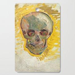 Skull by Vincent van Gogh, 1887 Cutting Board