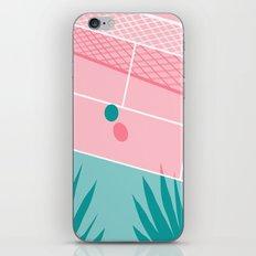 Jock - tennis sport retro neon throwback palm springs los angeles hollywood california sunny pop art iPhone & iPod Skin