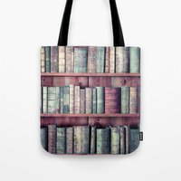 books Tote Bags featuring books by Claudia Drossert