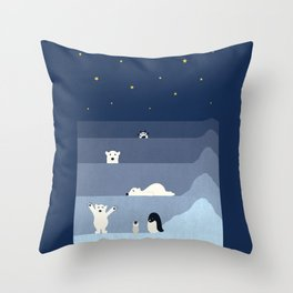now you see me Throw Pillow