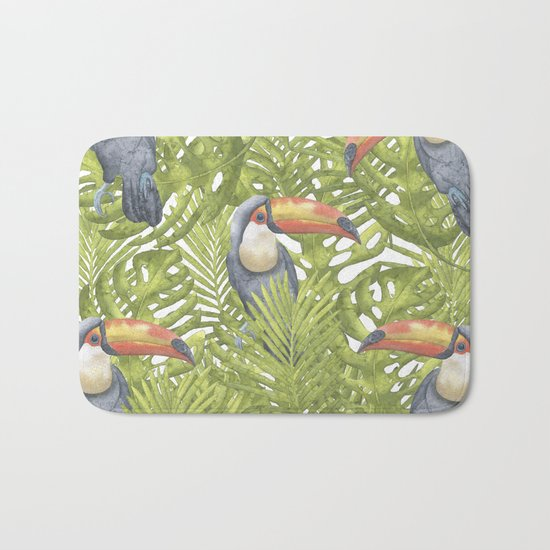 Toucan Bath Mat