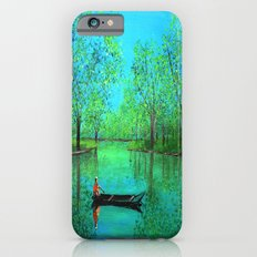 Lake reflection iPhone 6s Slim Case