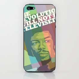 The revolution will not be televised iPhone Skin