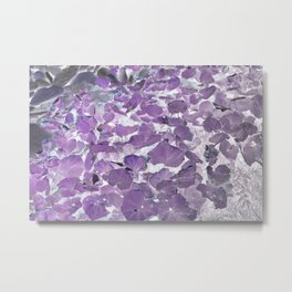 In(tro)verted Ground Cover Metal Print