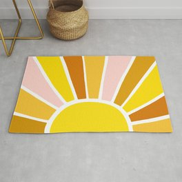 Sun Ray Burst Rug